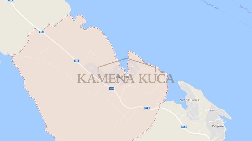 LUKORAN - BUILDING LAND 100 M FROM SEA