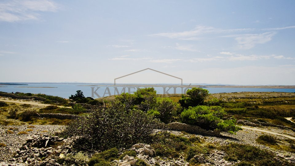 Building lands with panoramic view*Smokvica/Pag
