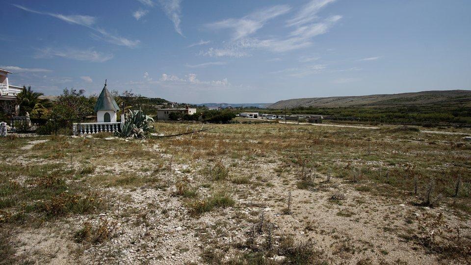 Građevinska zemljišta*pogled na more*Vlašići*Otok Pag