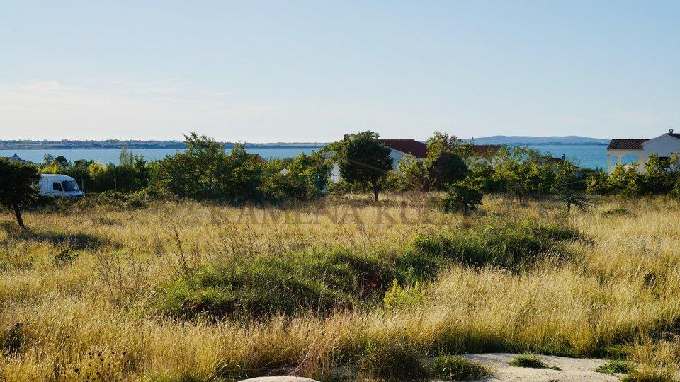 Building land * sea view * Vrsi