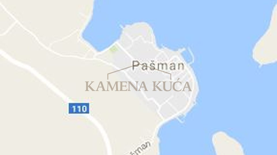PAŠMAN- GREAT BUILDING LAND 300M FROM SEA!