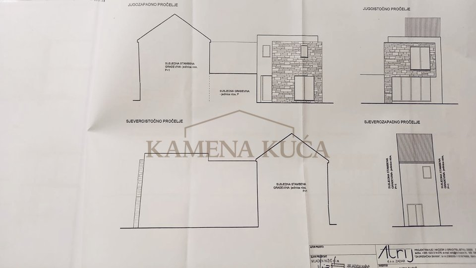 Opportunity! Old house with building permit *400m from the sea*Privlaka